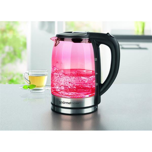 Heine home glazen waterkoker met led verlichting kopen for Waterkoker led verlichting