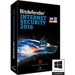 Bitdefender INTERNET SECURITY 2016 3 PC 1 YEAR NLFR