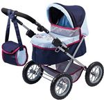 Bayer DESIGN Poppenwagen Trendy blauw