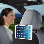 Shop4 - iPad Air Autohouder Hoofdsteun Tablet Houder Zwart