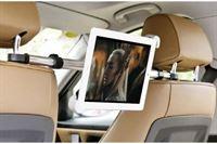 Shop4 - iPad Air 2 Autohouder Centrale Hoofdsteun Tablet Houder Zwart