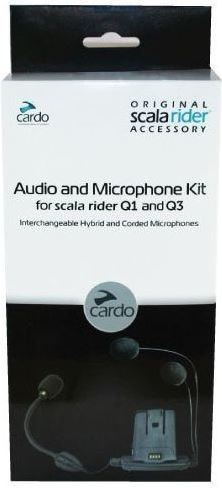 Cardo Scala Rider Audio Kit Q1 and Q3