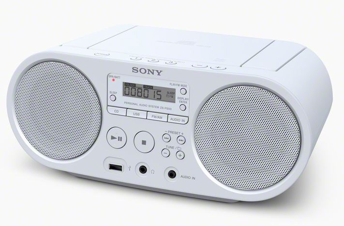 Sony ZS-PS50 wit