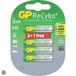 GP Batteries ReCyko+ AAA ReCyko+ 3+1