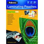 fellowes 100 micron lamineerhoes glanzend A4 - 100 pak