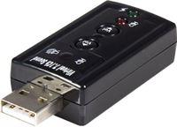 StarTech.com Virtuele 7.1 USB Stereo Audio Adapter Externe Geluidkaart