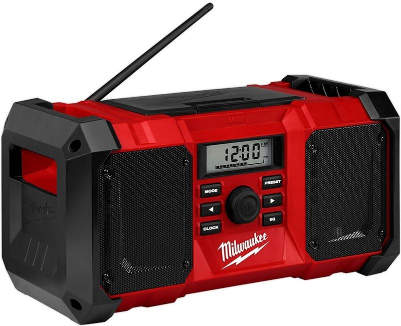Milwaukee M 18 JSR 0 Bouwradio body 1