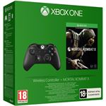 Microsoft Xbox One Wireless Controller Black + Mortal Kombat X