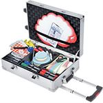 legamaster Workshopkoffer Professional Travel Aluminium 54 x 35 cm
