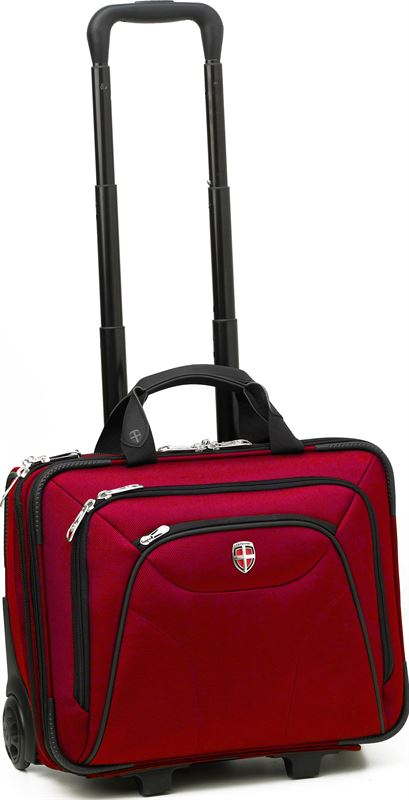 Ellehammer Copenhagen Business - Laptoptrolley - 15.6 inch - Rood