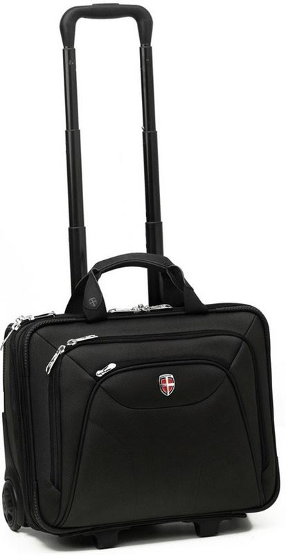 Ellehammer Copenhagen Business - Laptoptrolley - 15.6 inch - Zwart