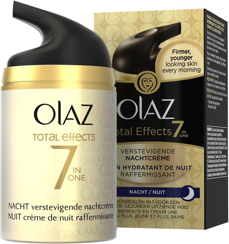 Olaz Anti-rimpel nachtcreme total effects 50ml