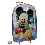 Mickey Disney Mouse - Kinderkoffer - Rood