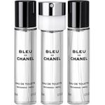 Chanel BLEU EDT SPRAYS 3 X 20 ML