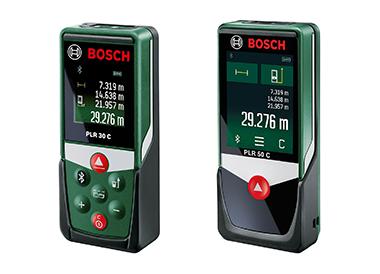 bosch afstandsmeters PLR 30c en 50c