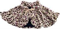 OBBOmed - Elektrische dekens - met verwarmde Carbon element - in de nekgedeelte - tegen oververhitting beveiligd - Leopard motief - MH 1820