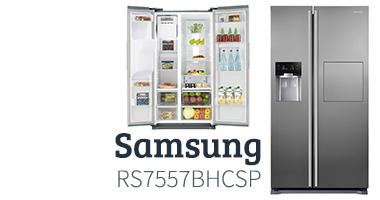Samsung RS7557BHCSP Koelkast Kieskeurig testpanel