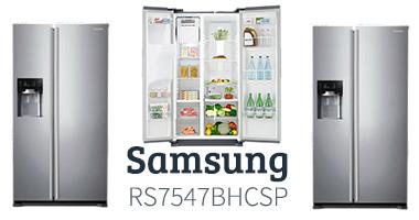 Samsung RS7547BHCSP koelkast testpanel