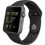 Apple Watch Sport zwart
