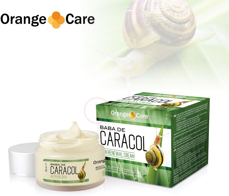 Orange Planet Slakkencreme baba de caracol 50ml