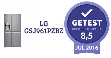 Eindoordeel LG GSJ961PZBZ Amerikaanse koelkast