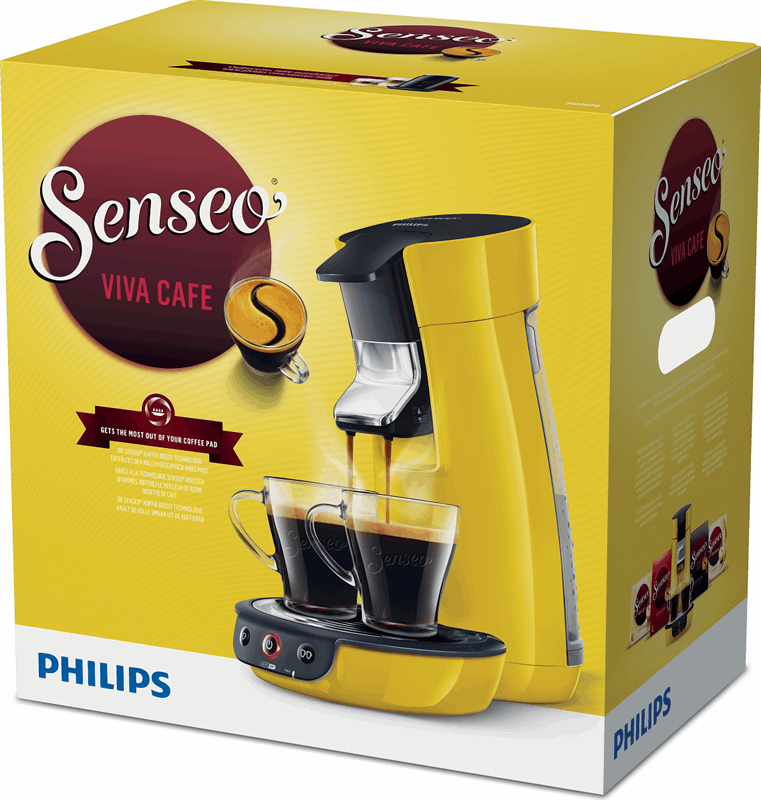 Philips Senseo Viva Café HD7829 geel | Specificaties
