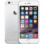 Apple iPhone 6 zilver / 16 GB