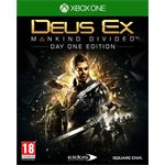 Square Enix Deus Ex: Mankind Divided - Day One Edition Xbox One
