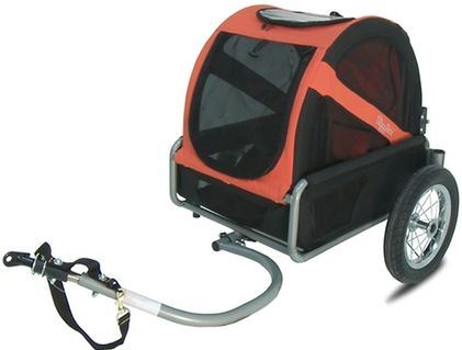 DoggyRide Fietskar Mini Trailer Rood