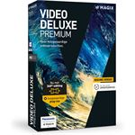 MAGIX Video Deluxe Premium - Nederlands / Frans / Engels - Windows
