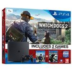 Sony Playstation 4 Slim 1 TB + Watch Dogs & Watch Dogs 2