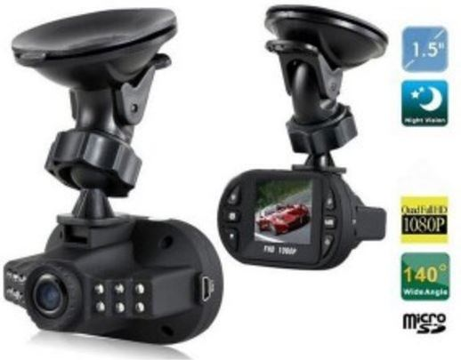 Giftwebshop Huismerk C600 Full HD Dashcam + LED 1080P Autocamera
