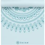 Gaiam Premium Marrakesh - Fitnessmat - 5mm - Turquoise