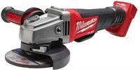 Milwaukee M18 CAG125XPD-0 18V Li-Ion accu haakse slijper body - 125mm - koolborstelloos - peddelschakelaar