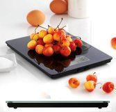 Mastrad Elektronische keukenweegschaal zwart