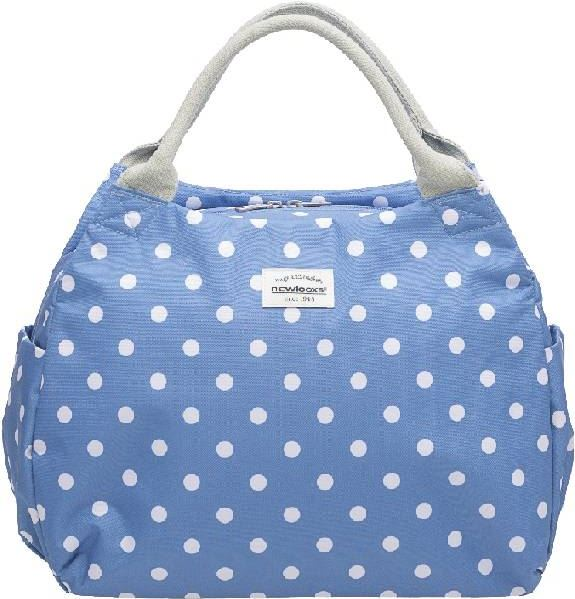 New Looxs Tosca - Handtas - 16L - Polka Dot River Blue