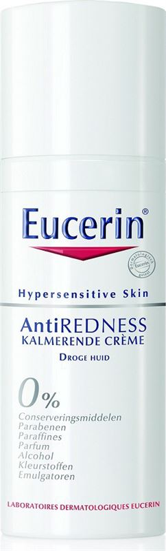 Eucerin Hypersens anti redness kalm creme rijke textuur 50ml