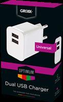Grixx Stekker dual USB