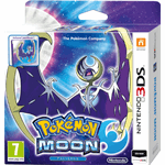 The Pokemon Company Pokemon Moon Steelcase Edition 3DS Nintendo 3DS