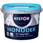 Histor Monodek Muurverf - 5 liter - Gebroken Wit