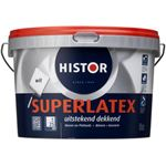 Histor Superlatex Muurverf - 2 5 liter - Wit