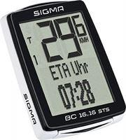 Sigma BC 16.16 STS CAD Draadloze Fietscomputer Zwart/Wit
