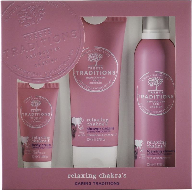 Treets Relaxing Chakra s Giftset Deluxe Collection