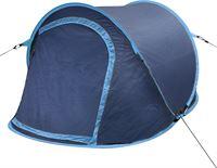 vidaXL Pop-up tent 2 personen marineblauw / lichtblauw