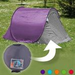 BestPriceAlarm Best Price Alarm Pop-Up Tent - 2 Personen - Paars