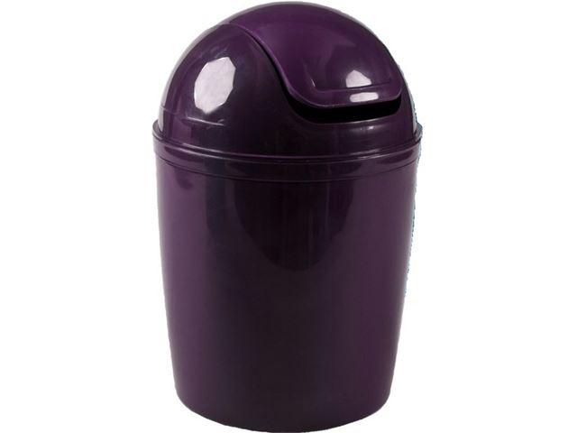 Tafel Prullenbak Rvs : Couleur pourpre tafel afvalemmer met swingdeksel paars kopen