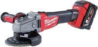 Milwaukee M18 CAG125X-0X 18v accu Haakse slijper Body in HD-Box - 125mm - koolborstelloos - schuifschakelaar