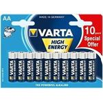 varta High Energy AA 10-pack