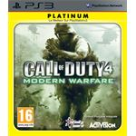 Activision Call of Duty 4: Modern Warfare Platinum, PS3 PlayStation 3