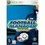 Sega Games Football Manager 2006 Xbox 360